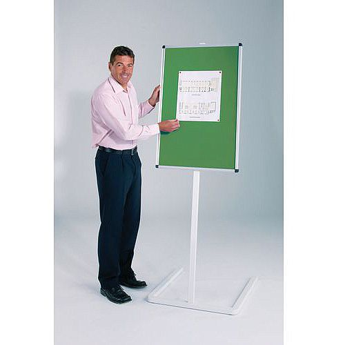 Pinnable Foyer Noticeboard Green