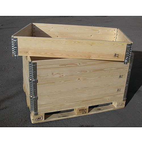Wooden Folding Pallet Collar 800x1200 Capacity 100kg