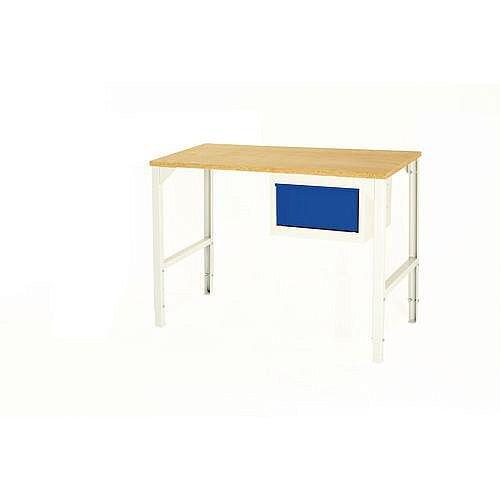 Basic Pedestal Workbench Basic Workbench With Single 200mm Drawer H900 x L1800mm