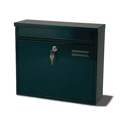 Ouse Modular Post Box Green