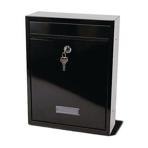 Trent Modular Post Box Black