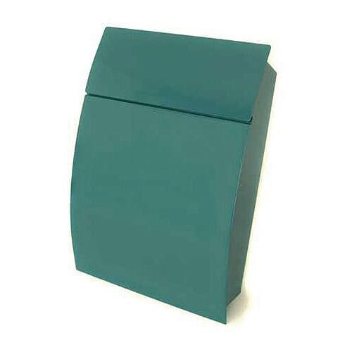 Tweed Secure Post Box Green