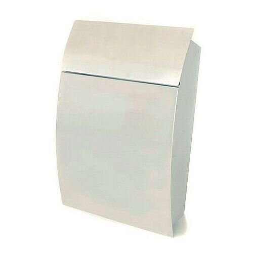 Tweed Secure Post Box Stainless Steel