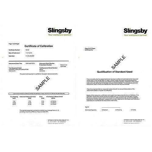 Professional Laser Distance Meter Calibration Certificate