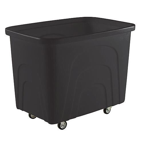 Recycled Container Truck Recycled Black Castors In Corner Pattern