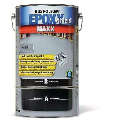 Heavy Duty Epoxy Floor Paint Light Grey