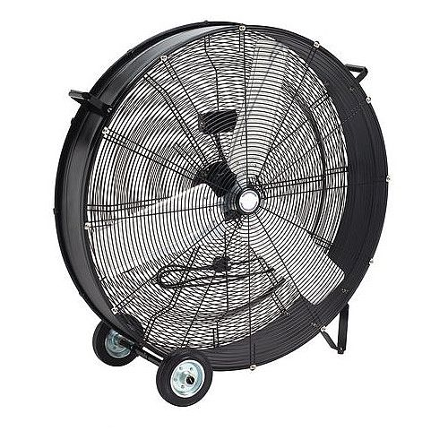 905mm Drum Fan Black
