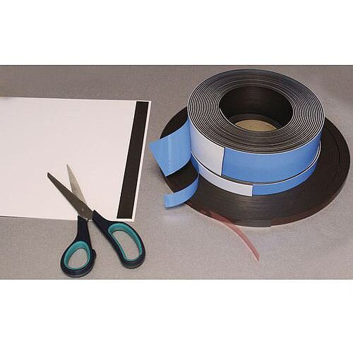 Magnetic Self-Adhesive Strip Wxl 25X10Mm