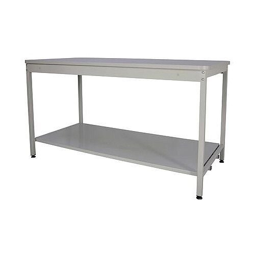 Bench With Open Storage With Lower Shelf HxDxL 840x750x1830mm