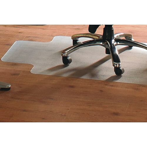 Economy Chair Mat For Hardfloors L x W - 1200 x 900mm.