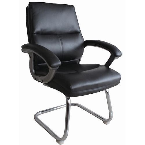 Medium Back Visitor Chair Black