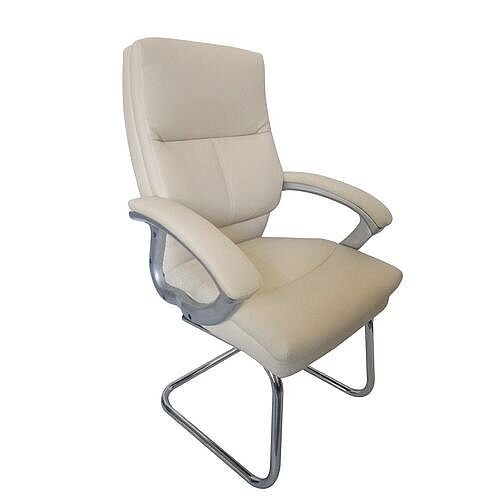 Medium Back Visitor Chair Cream