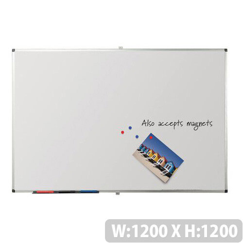 Writeon Magnetic Whiteboard 1200X1200mm