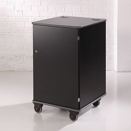 Secure Multimedia Projector Mobile Cabinet Black