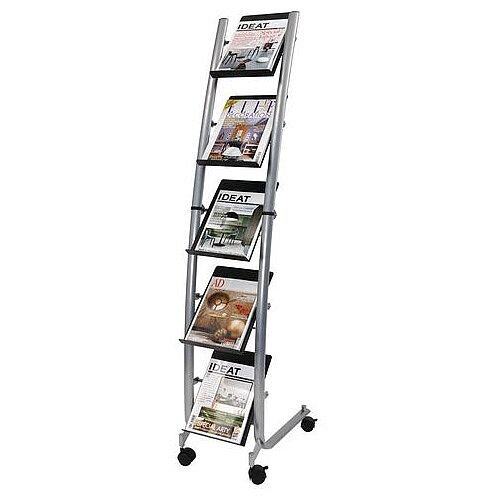 Mobile Literature Display Stand A4
