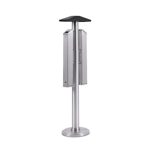 Double Sided Floor Standing Smokers Pole