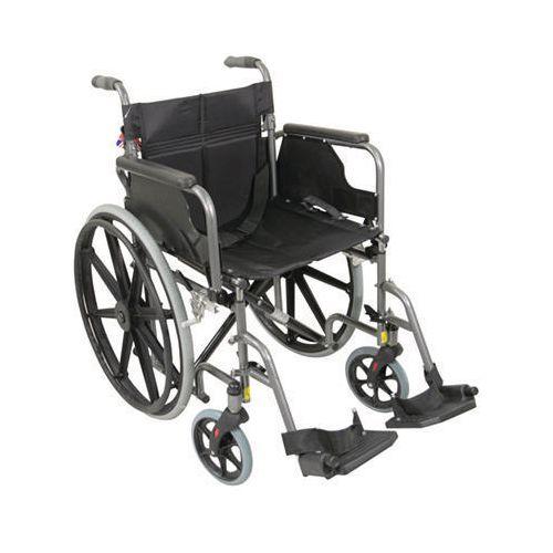 Self-Propelled Wheelchair Black