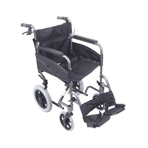 Compact Transport Wheelchair Black