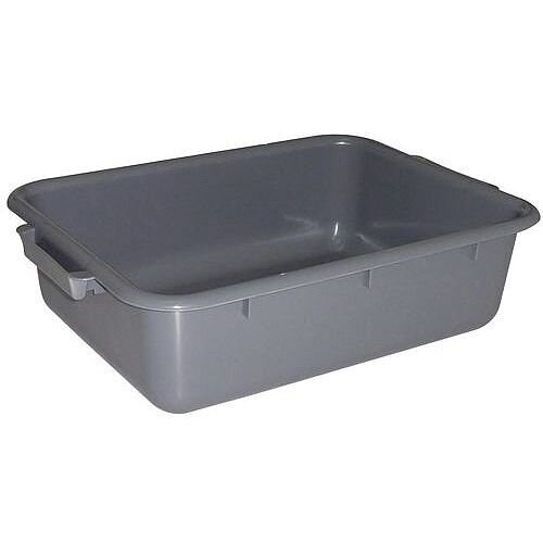 Stainless Steel Bin Clearing Trolley Accessories Rectangular Tote Box