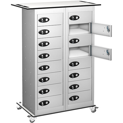 Probe Laptop Storage Trolley White