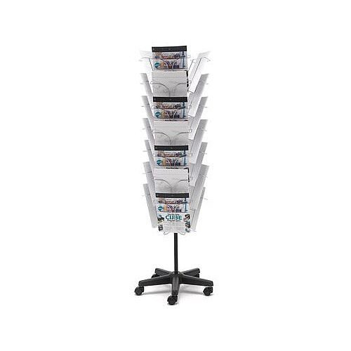 Wire Literature Floor Stand