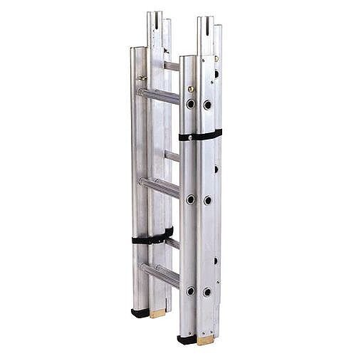 Sectional Surveyors Ladder 3 Sections 9  Extended Height 2700Mm 175kg