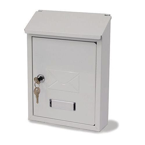 Basic Post Box White