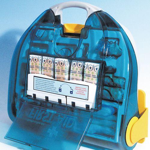 10 Person Adulto Premier First Aid Kit Dispenser Box