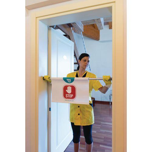 No Entry Door Sign