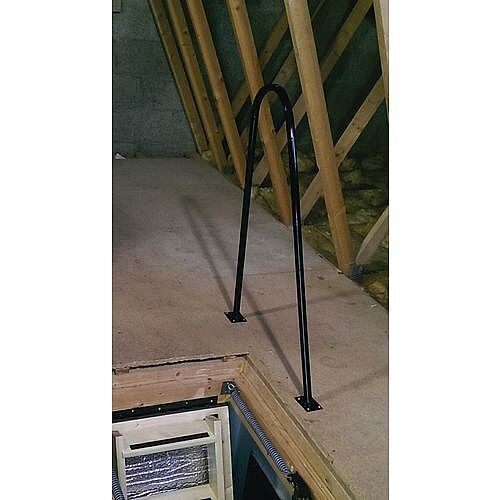Loft Ladder Opening Grabrail Height 1m Long 650mm