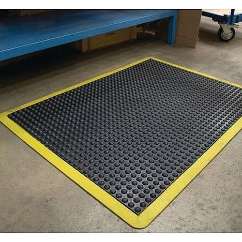 Bubblemat With Yellow Edge 1.2M X 0.9M