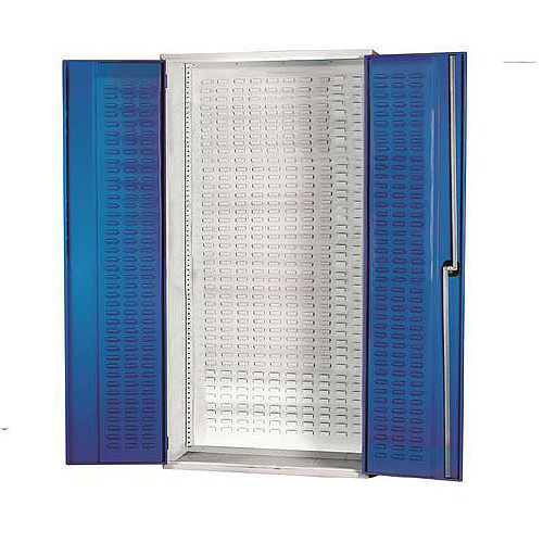 Louvred Panel Cabinet H2000xW1015xD430mm