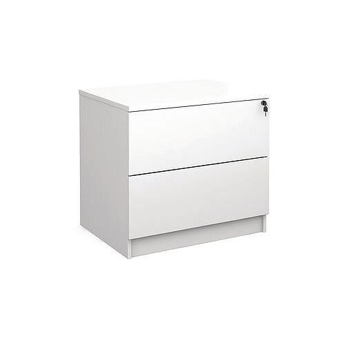 Office Side Filing Cabinet White