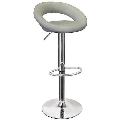 Designer Bar Stool Grey