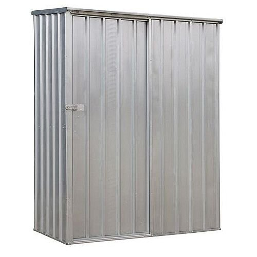 Galvanised Steel Shed With Sliding Door HxWxD 1900 x 1500 x 800mm