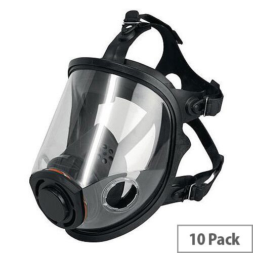 JSP Force 10 Twin Cartridge Full Face Respirator