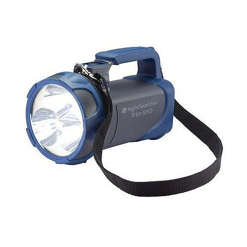 Nightsearcher Usb Rechargeable Flashlight Grey