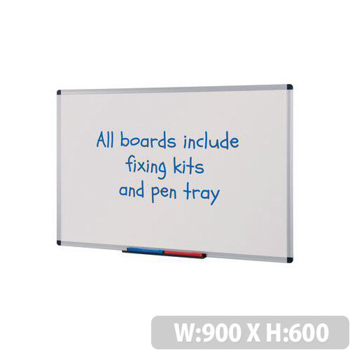 Budget Whiteboard HxW 900x600mm