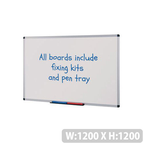 Budget Whiteboard HxW 1200x1200mm