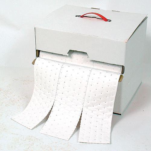 Sorbent Dispenser Boxes Roll Oil &Fuel Capacity 38L WxL 400 x 325mm