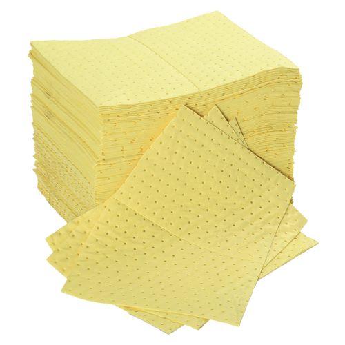Sorbent Pad Chemical Capacity 85L WxL mm: 400x500 Pack of 100