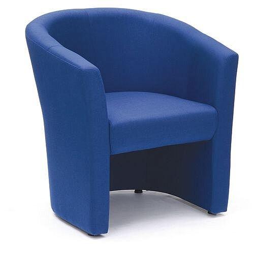 Tub Armchair Blue