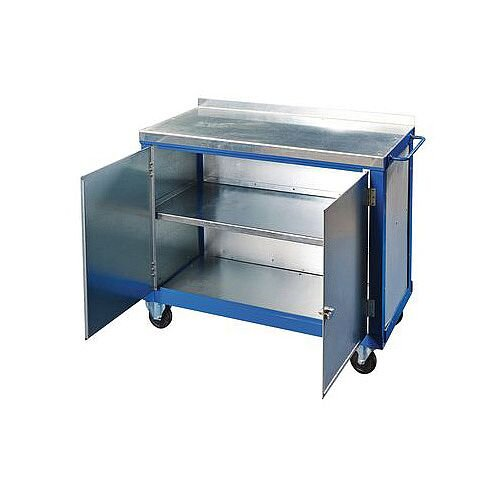 Heavy Duty Tool Trolley With Double Doors