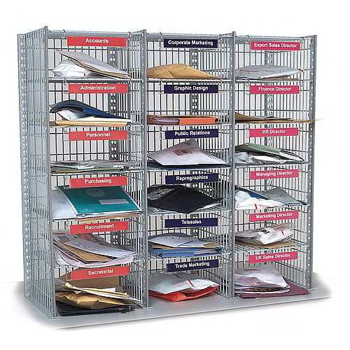 18 Compartment Mail Sort Unit