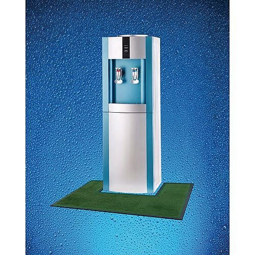Water Cooler Mat Green