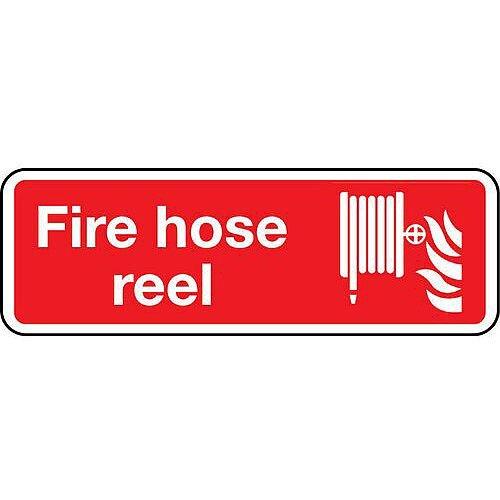 PVC Fire Hose Reel Sign