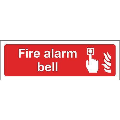 PVC Fire Alarm Bell Sign