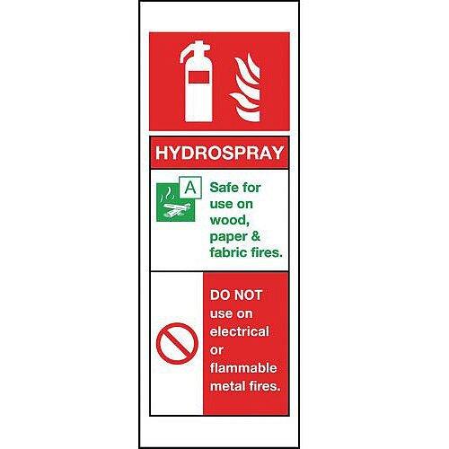 PVC Hydrospray Sign