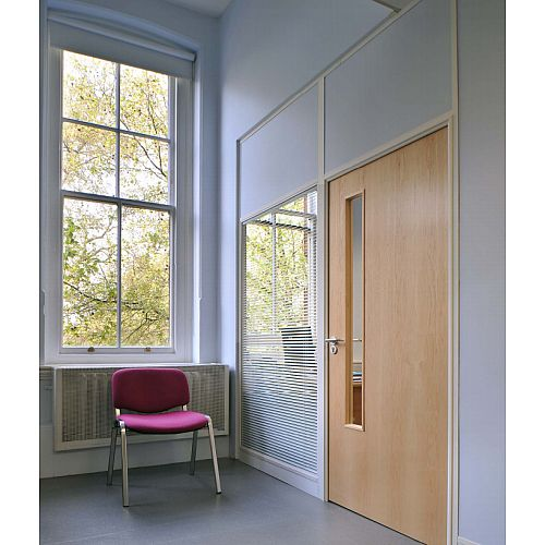 SAS SYSTEM 2000 Single &Double Glazed Demountable Office Partitioning System
