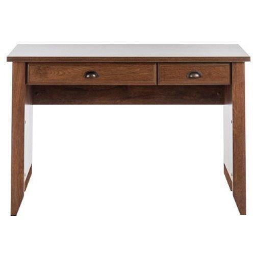 Home Office Laptop Desk Oiled Oak